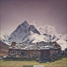 美丽的喜玛拉雅山写真
