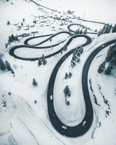 回顾冬日浪漫雪景