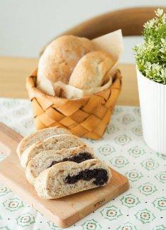 香甜可口早餐面包