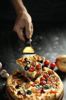 美味好吃的披萨高清图片