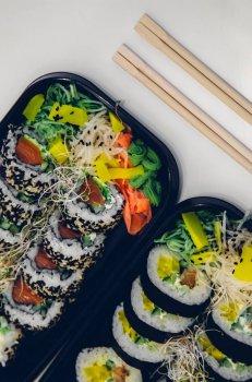 地道美味清口的寿司