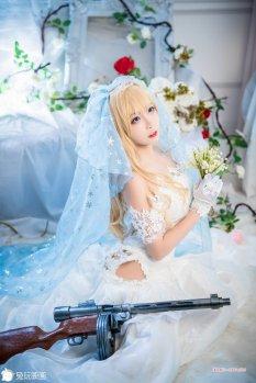 超华丽花嫁少女写真