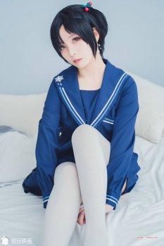 兔玩映画JK制服蓝色幻想