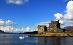 威士忌家乡苏格兰古堡壁纸