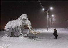 俄罗斯最寒冷的地区记录繁