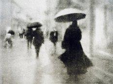 斑驳的神秘雨街