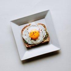 健康营养煎鸡蛋图片