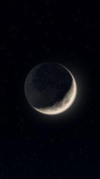 月球月亮表面宇宙手机壁纸