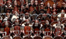英国庆祝维京文化火祭节
